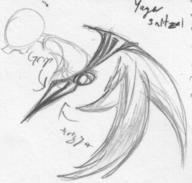 Pegasus_Drive action author_indifferent doodle open_mouth pencil pencil_sketch robot sketch toy wings // 638x607 // 283.6KB
