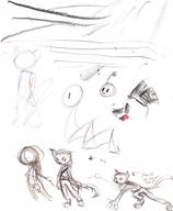 author_indifferent featureless_crotch fluffy_tail ink_sketch midriff open_mouth robot // 540x658 // 283.7KB
