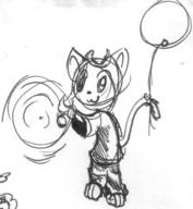 :3 Kilo author_indifferent balloons doodle feline ink ink_sketch magic sketch // 644x698 // 69.7KB