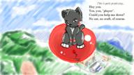 Rowin author_like background balloons cat digital_sketch fantasy flying game high // 800x450 // 102.2KB